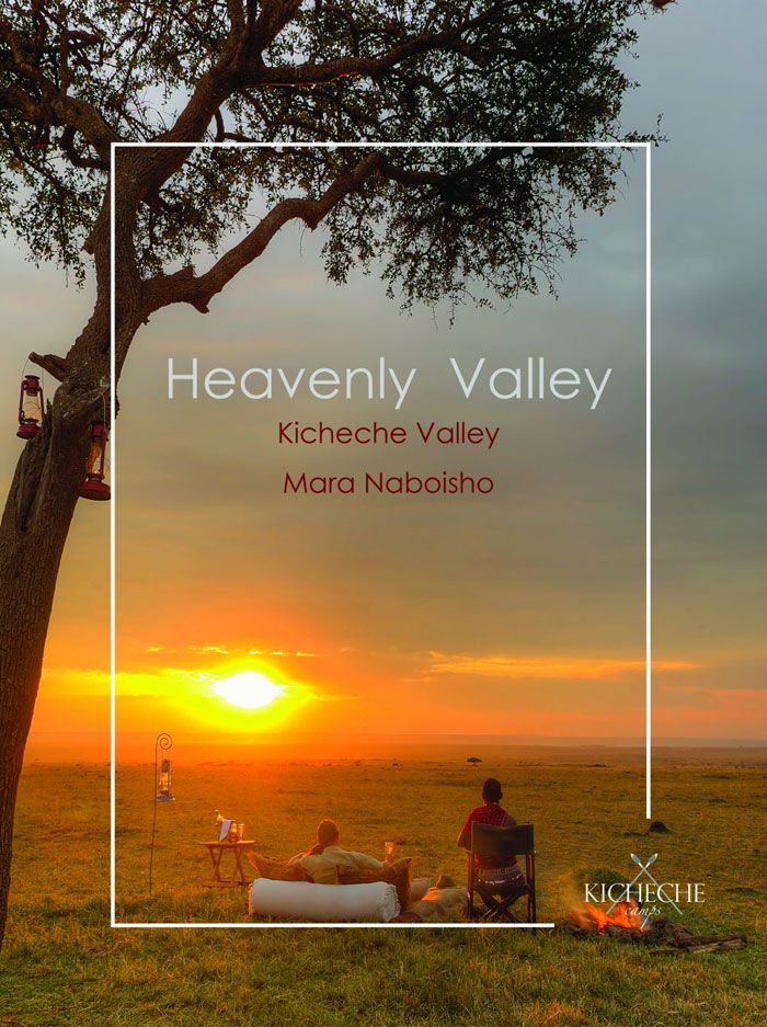 Heavenly Valley offer  – Kicheche Valley, Mara Naboisho – free night**