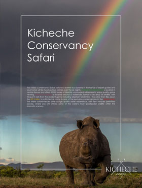 Kicheche Conservancy Collection Offer '18 –  Stay 6 nights pay for 5*