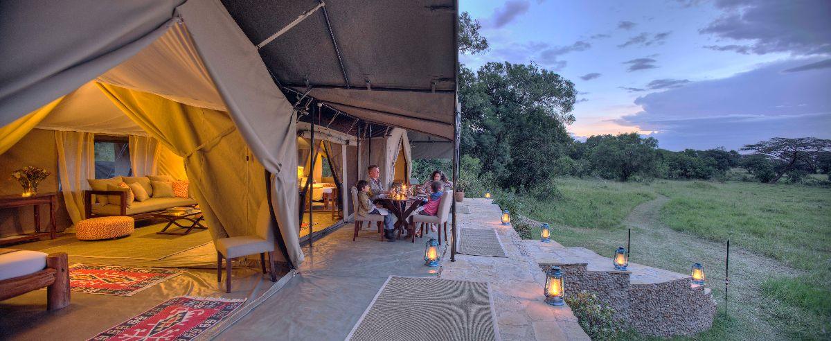 Kicheche Mara Camp Family suite